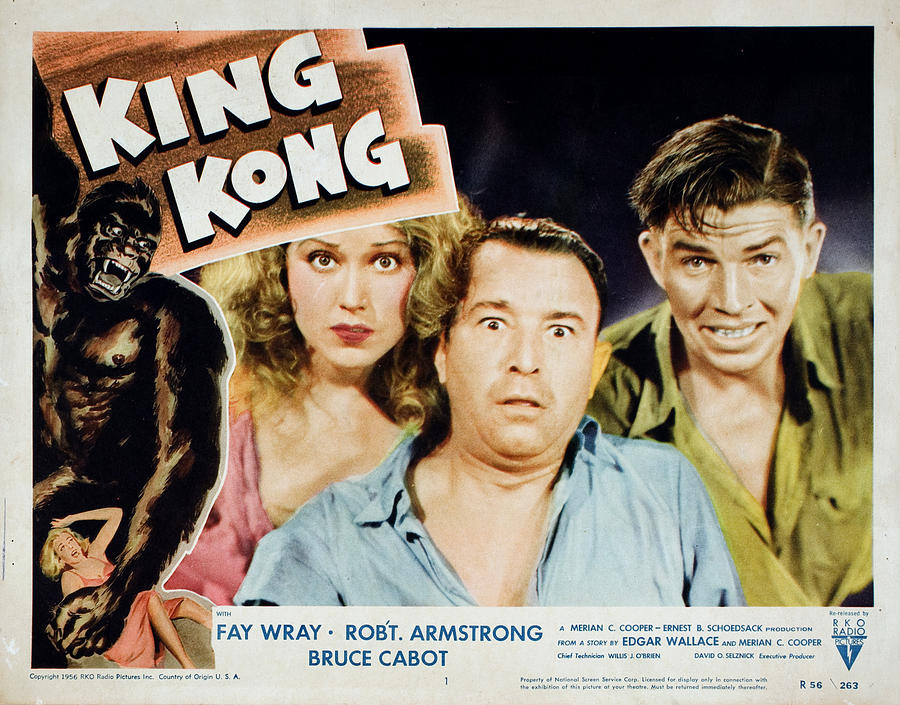 1930s Movies Photograph - King Kong, Fay Wray, Robert Armstrong by Everett