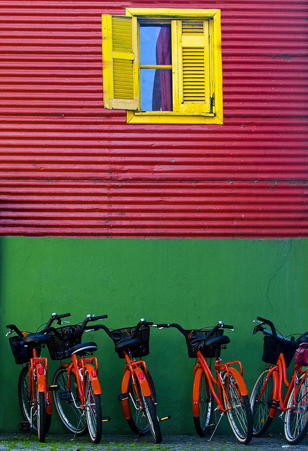 America Photograph - La Boca by Kobby Dagan