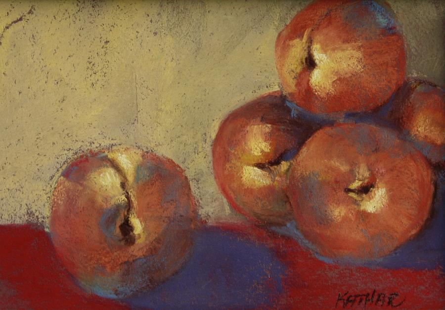 Peaches Pastel - Le Peches by Kathleen Hartman