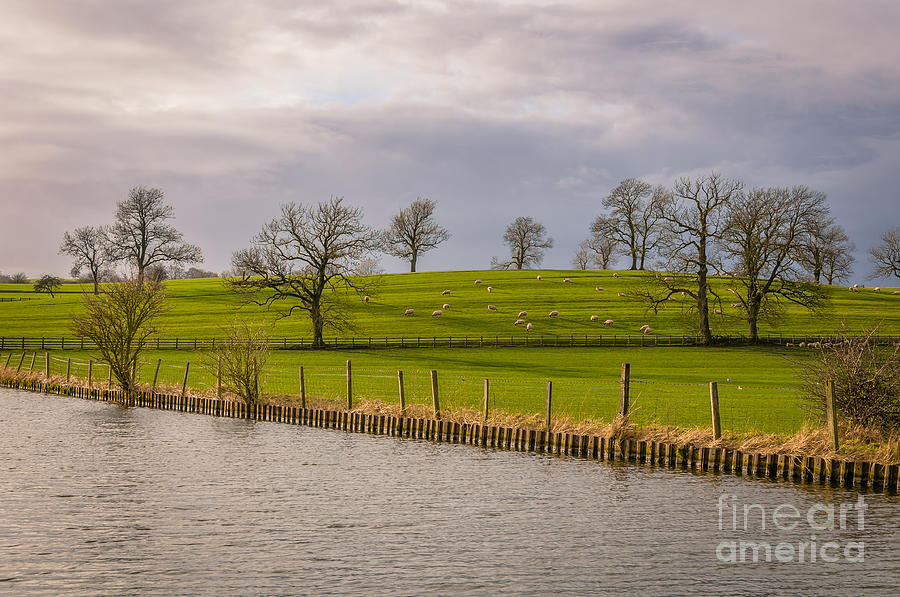 Leeds And Liverpool Canal In Gargrave Photograph