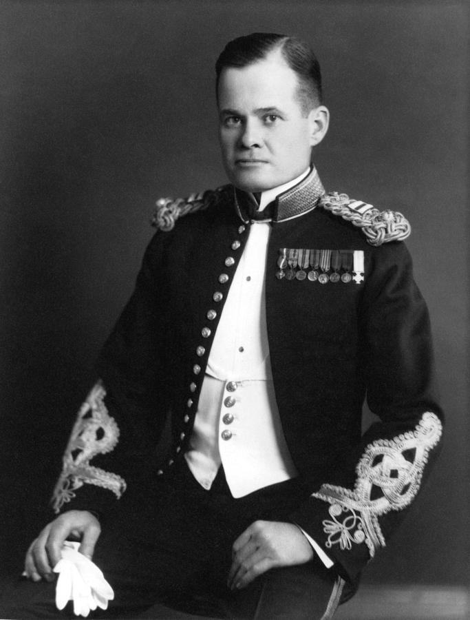 Marine Corps Photograph - Lewis Chesty Puller by War Is Hell Store