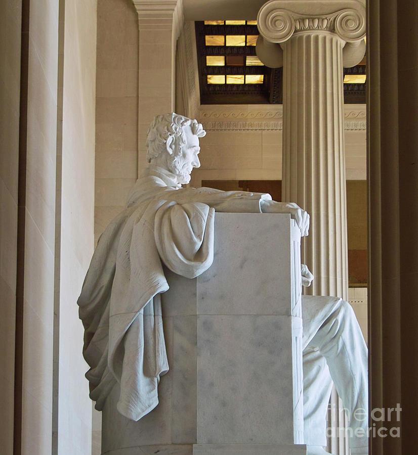 Lincoln Memorial Interior Washington Dc Photograph