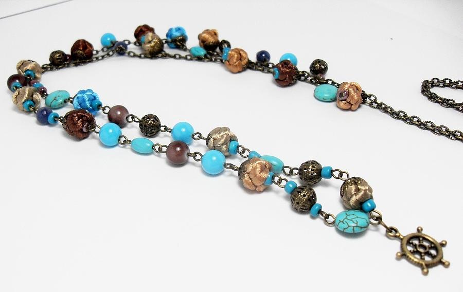 Handmade Jewelry - Long Necklace by Gorean Olga