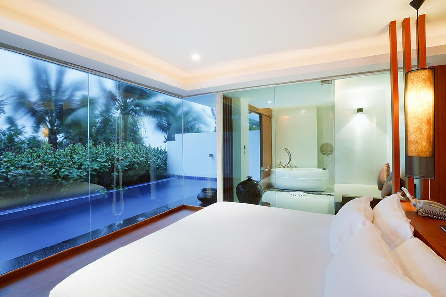 Resort Photograph - Luxury Bedroom by Setsiri Silapasuwanchai