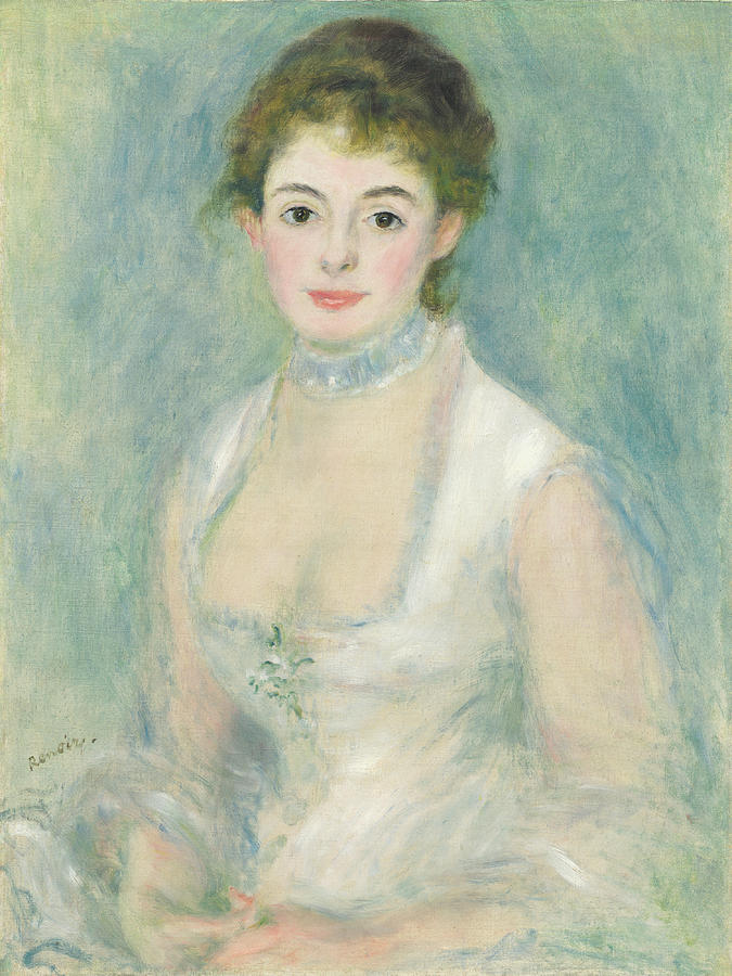 Madame Henriot Painting