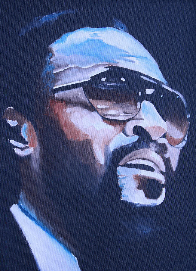 Marvin Gaye Paintings Painting - Marvin Gaye. by Mikayla Ziegler