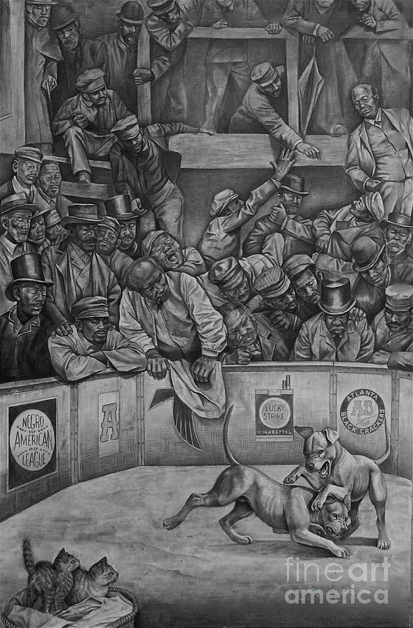 Michael Vick Drawing - Michael Vick by Curtis James