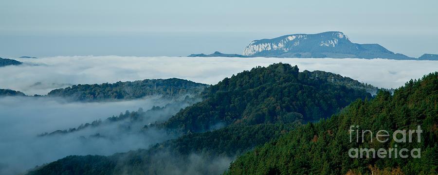 Mist Over Apuseni Photograph