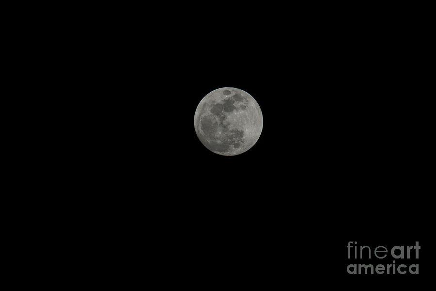Moon Beams Photograph