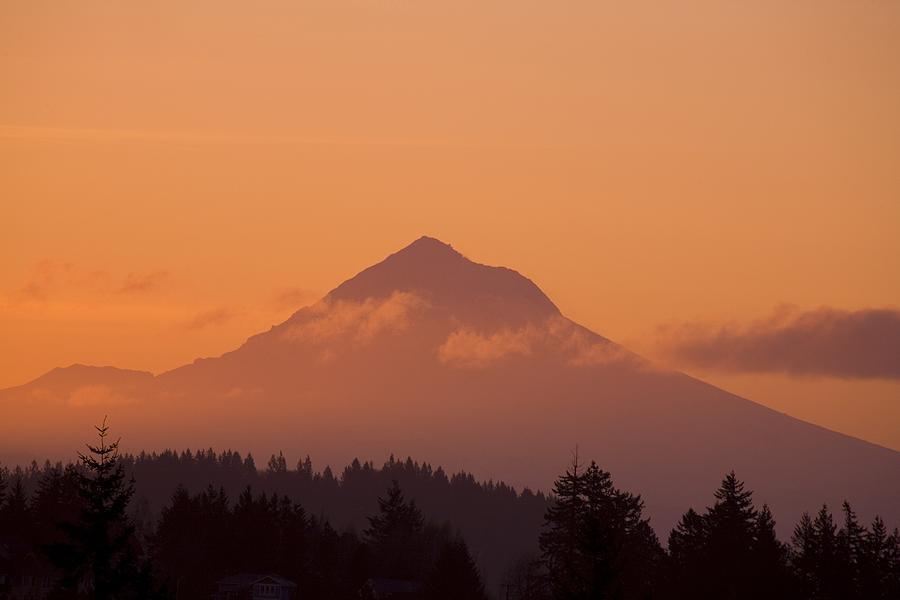 Mount Hood, Oregon, Usa Photograph