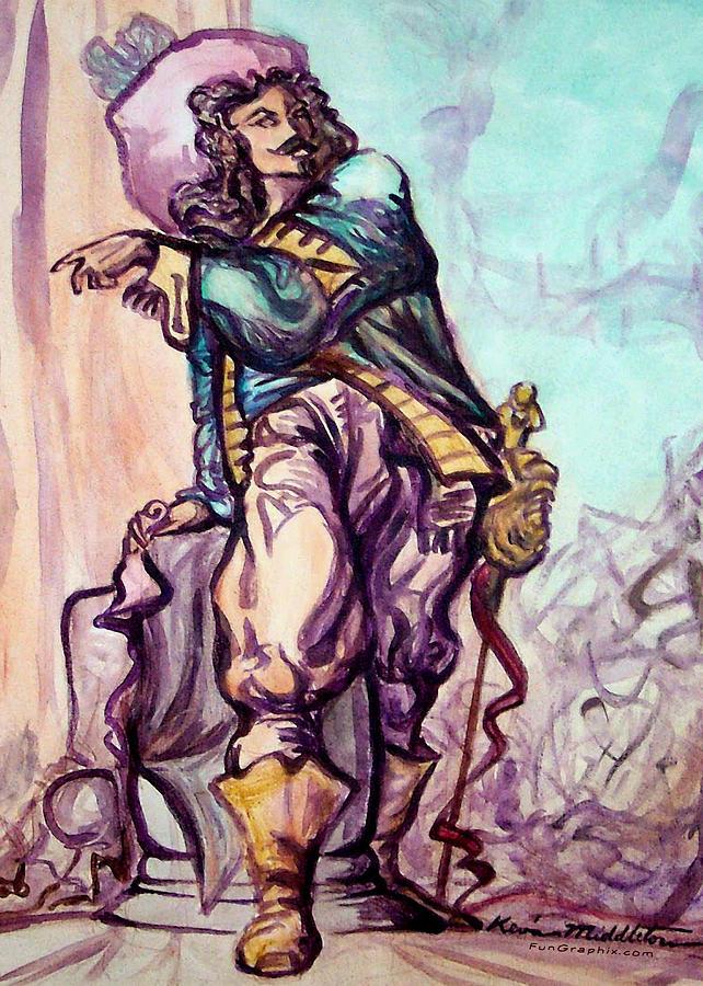 Musketeer Painting