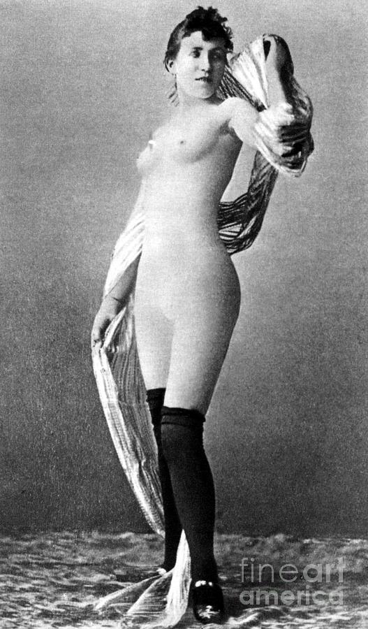 Nude Posing, C1888 Painting