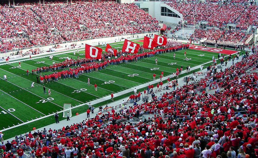 Ohio Flags Photograph