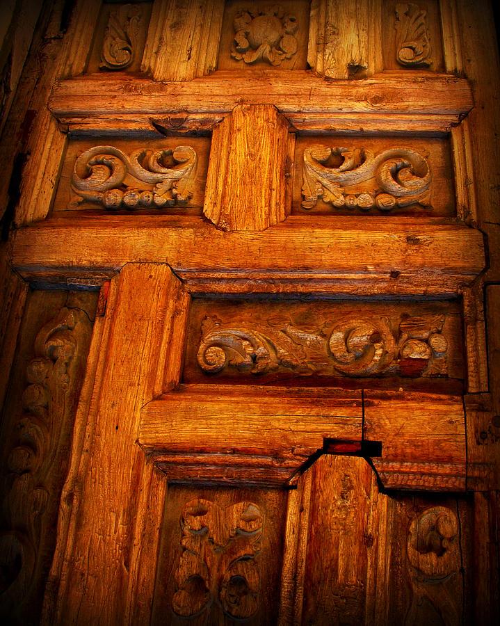 Door Photograph - Old Door by Perry Webster