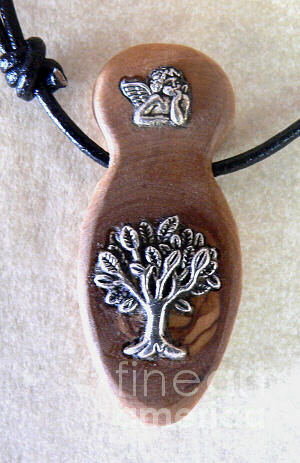 Olive Wood Necklace  Jewelry