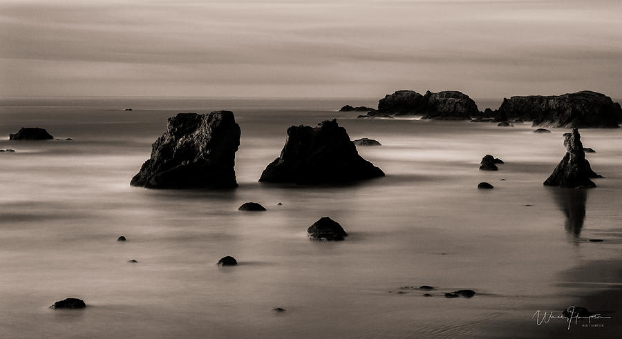 Oregon Coast - 8710-b,sw Photograph