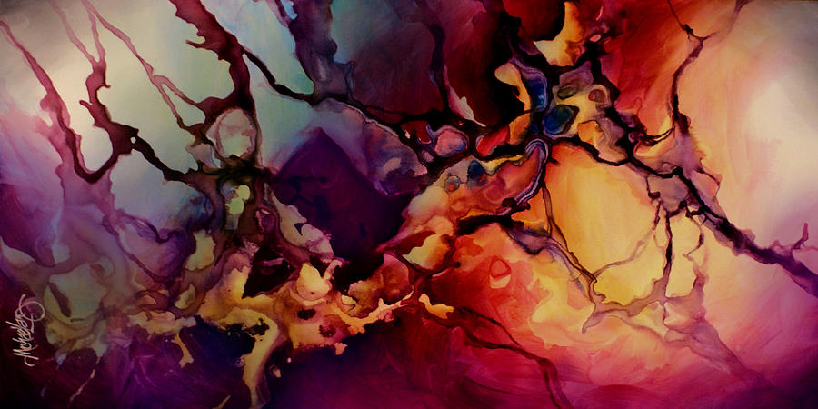 Passion Painting - Passion by Michael Lang