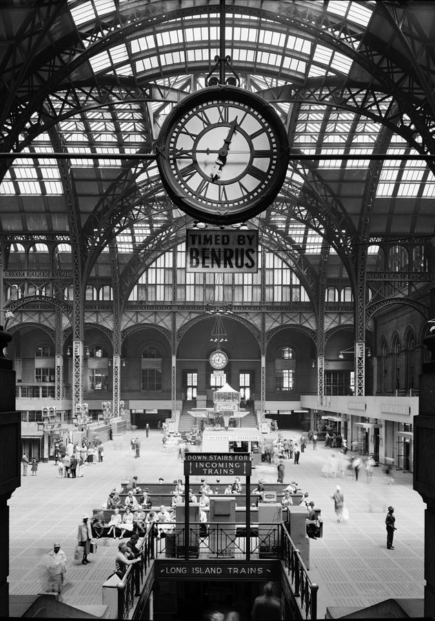 1960s Photograph - Pennsylvania Station, Interior, New by Everett