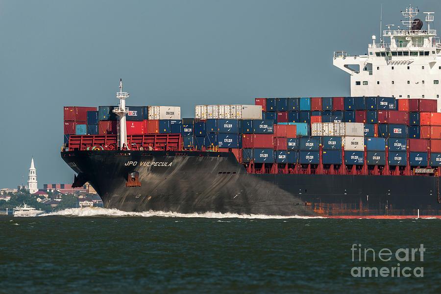 Port Of Charleston Photograph