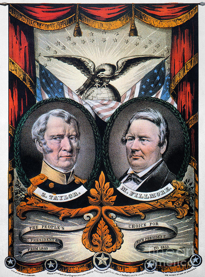 1848 Photograph - Presidential Campaign, 1848 by Granger