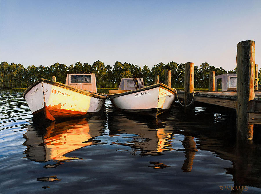 Boat Painting - Prime Of Life by Rick McKinney