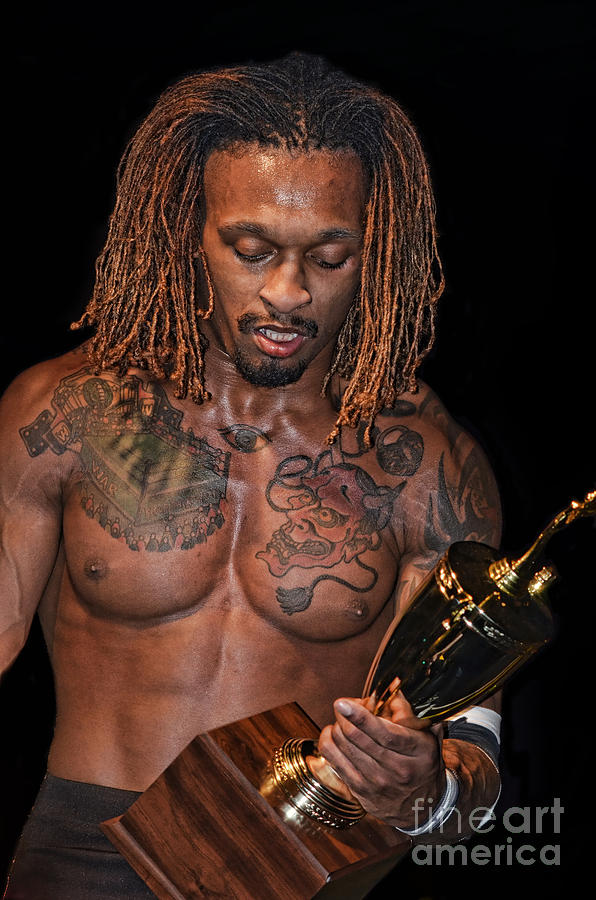 Pro Wrestler And Winner Of The 2017 Young Lions Cup Chris Bey Photograph
