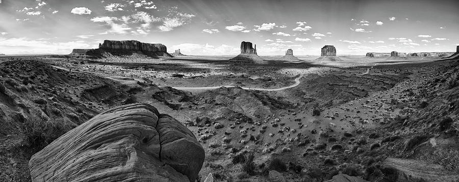 Arizona Photograph - Pure Monument Valley by Andreas Freund