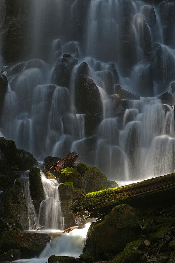 Ramona Falls Oregon Photograph