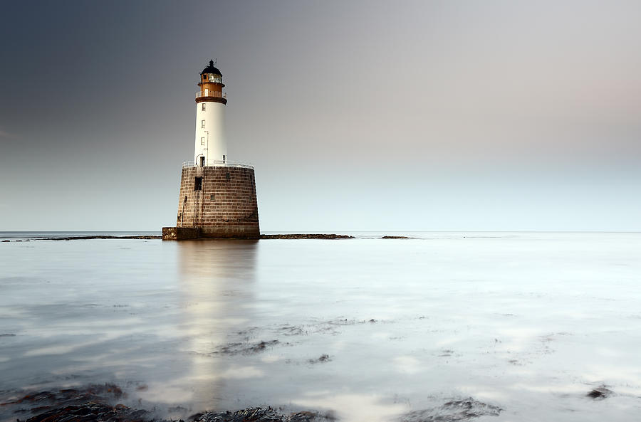 Lighthouse Photograph - Rattray Head Lighthouse  by Grant Glendinning