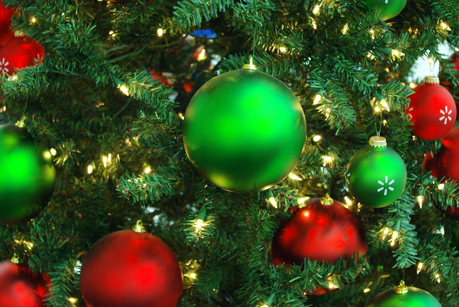 Red And Green Holiday Photograph