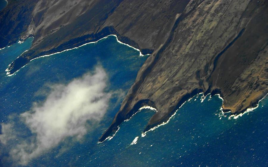 Rocky Hawaiian Coastline Photograph