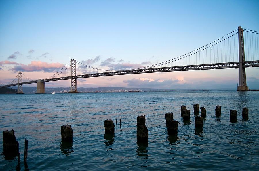 San Francisco Photograph - San Francisco Bay Bridge by Mandy Wiltse