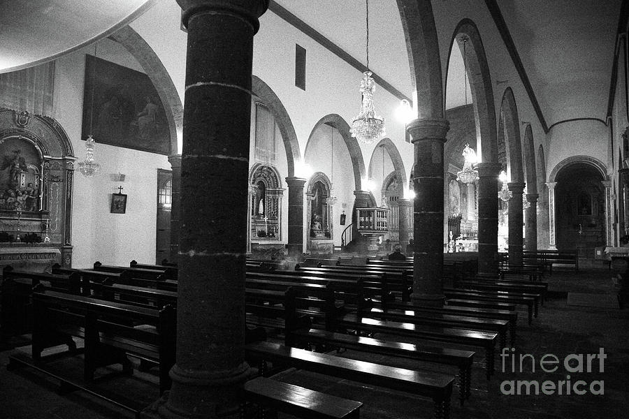 Church Photograph - Sao Miguel Arcanjo Church by Gaspar Avila