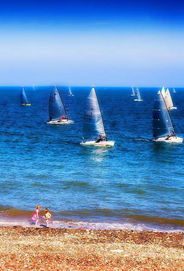 Sea Photograph - Seaside Fun by Mal Bray