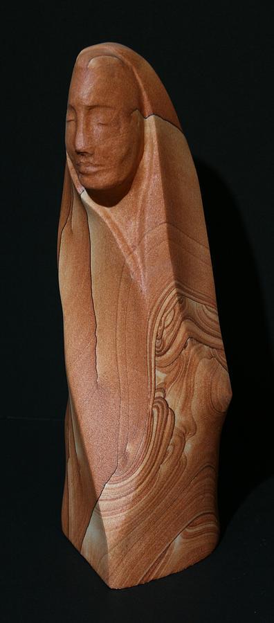 Hand Carved Sculpture - Serenity by Rudolf Cavalier