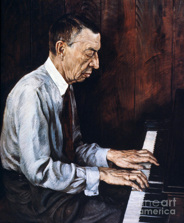 19th Century Photograph - Sergei Rachmaninoff by Granger