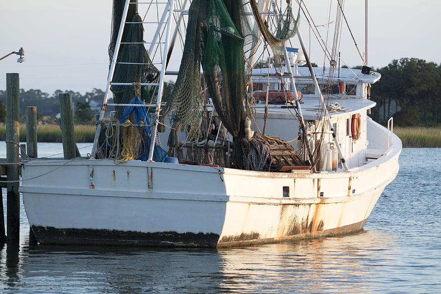 Shrimp Boat Photograph