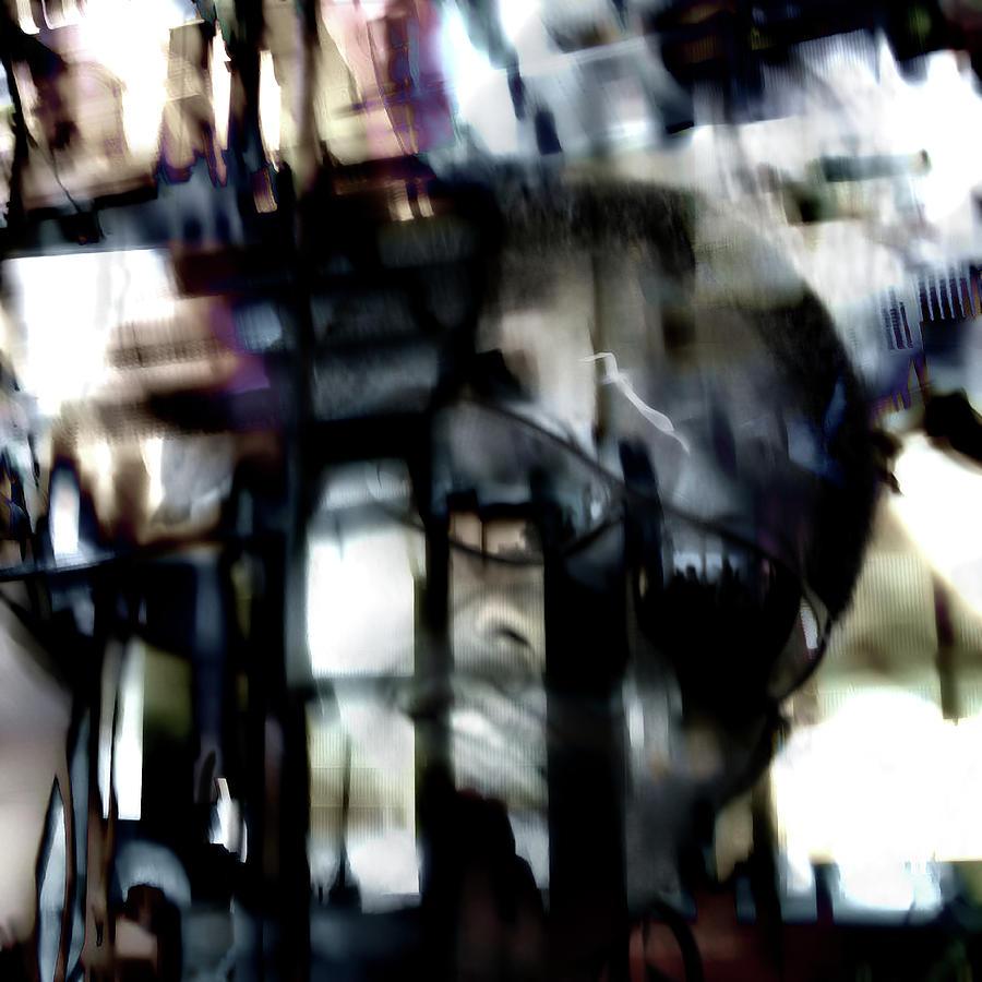 Portraits Digital Art - Slam by Dominique Crombez