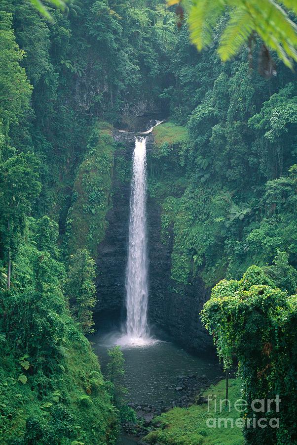 C1767 Photograph - Sopoaga Falls by Kyle Rothenborg - Printscapes