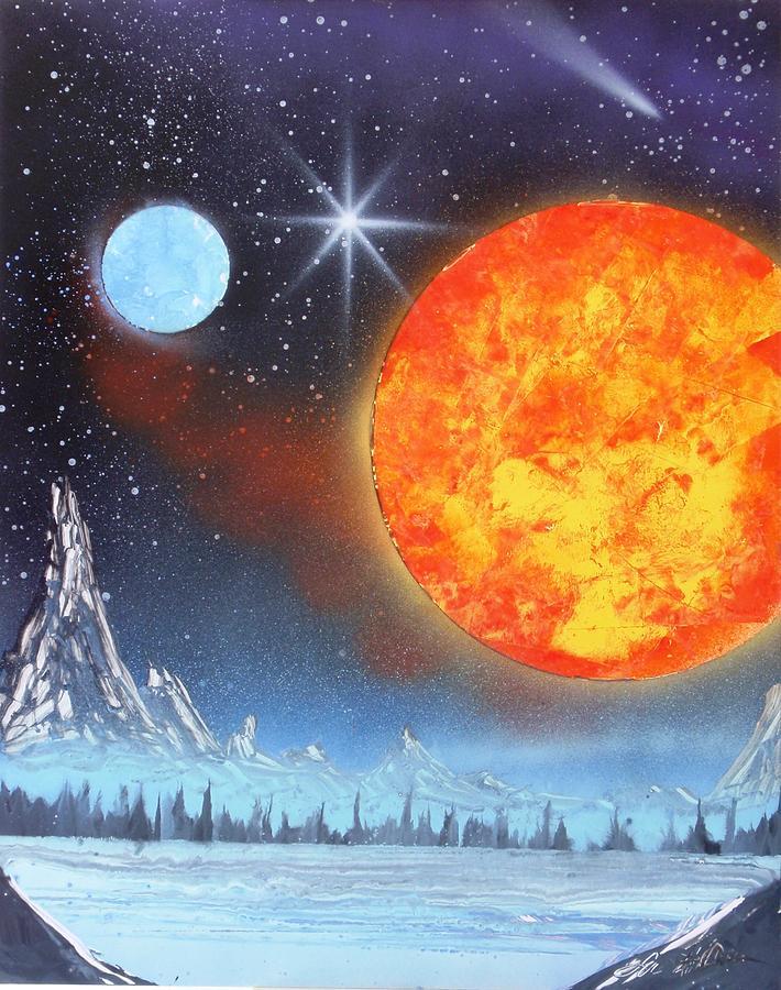 Space Art Painting - Space Art 2 by Lane Owen