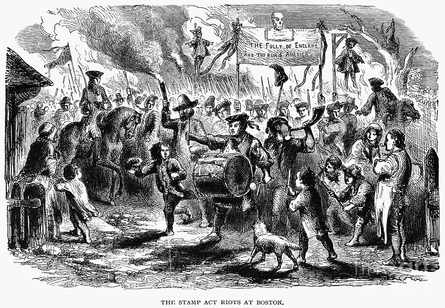 Stamp act riot 1765 is a photograph by granger which was uploaded on