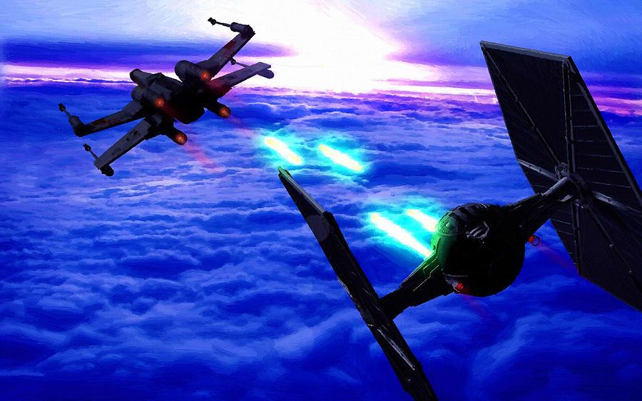 Star Wars Episode 5 Art is a piece of digital artwork by Star Wars ...