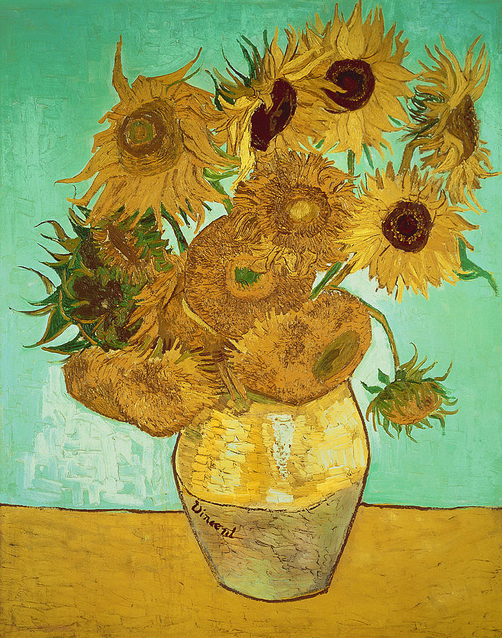 Sunflowers Painting - Sunflowers by Vincent Van Gogh