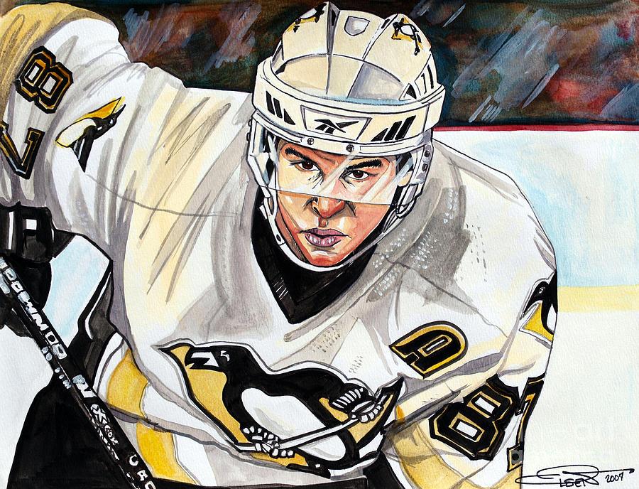 Sydney Crosby Painting