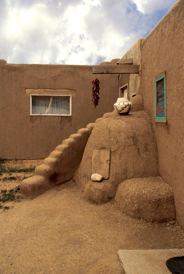 Taos Photograph - Taos Pueblo by Jerry McElroy