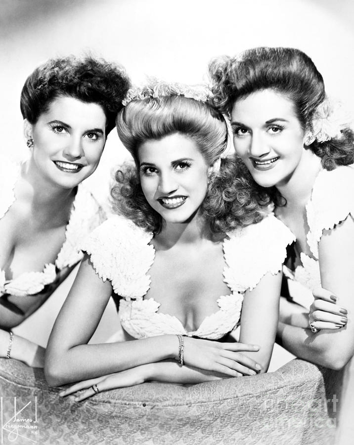 The Andrews Sisters Photograph