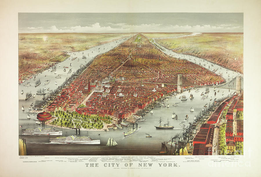 The City Of New York Photograph