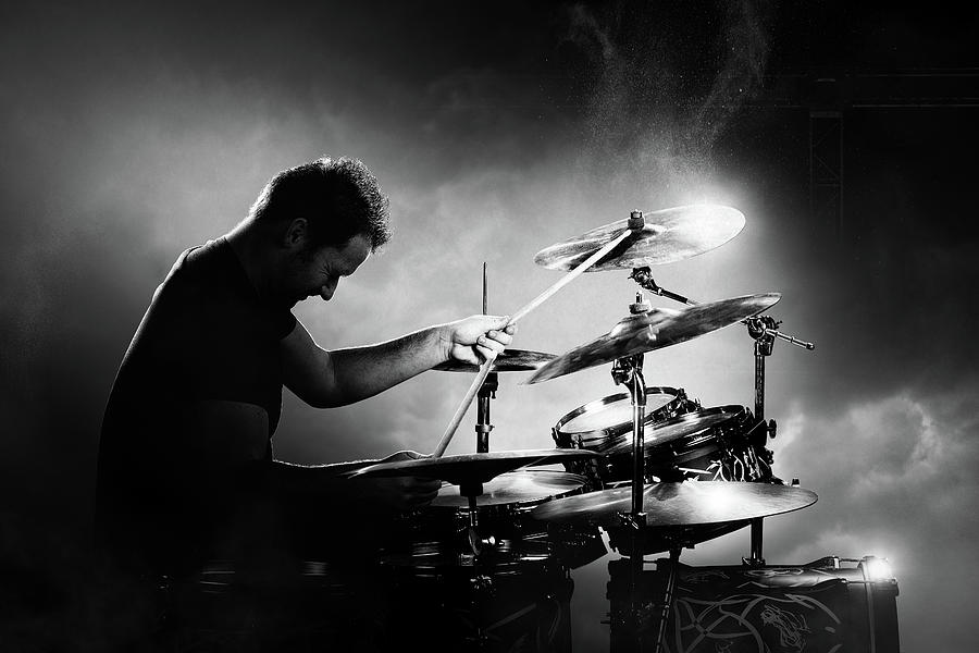 The Drummer Photograph