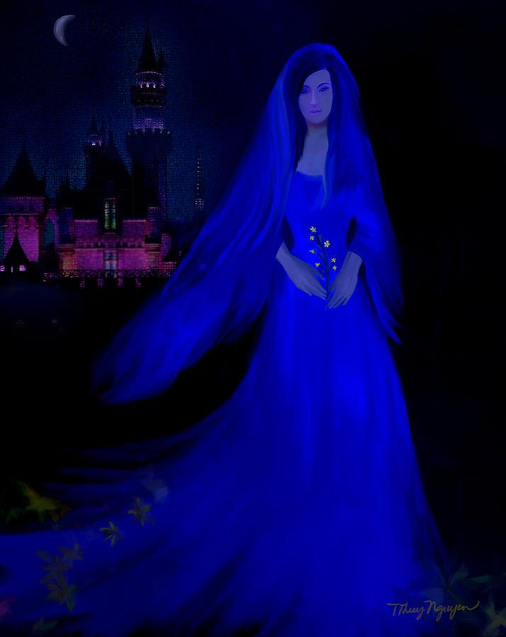 The Haunted Castle Digital Art