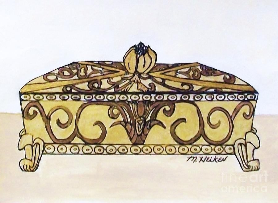 Jewelry Box Painting - The Jewelry Box by Marsha Heiken